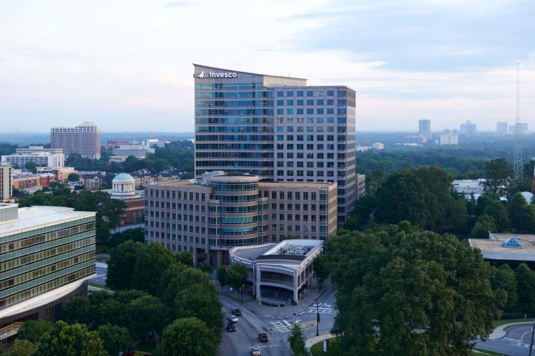 Invesco headquarters in Atlanta