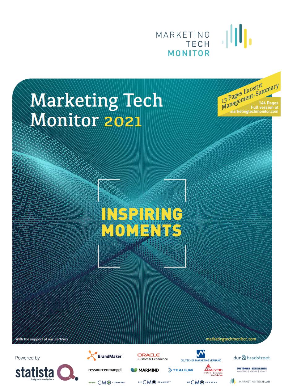 Marketing Tech Monitor 2021 - Summary