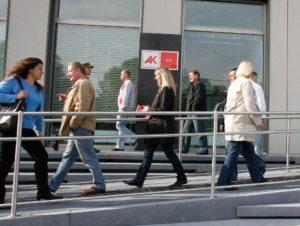 Arbeiterkammer Wien Vorplatz
